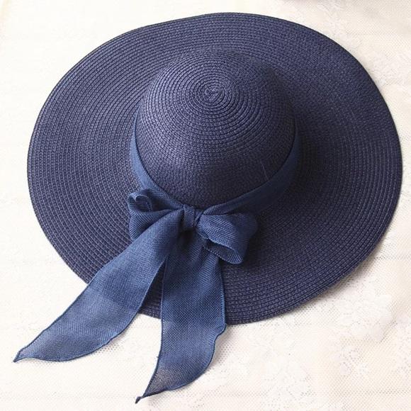Accessories - Summer/Spring Elegant Blue Hat